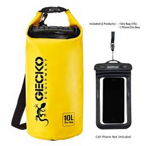 Gecko Equipment Dry Bag Waterproof Roll Top Sac Review