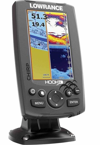 lowarance hook 4 sonar review