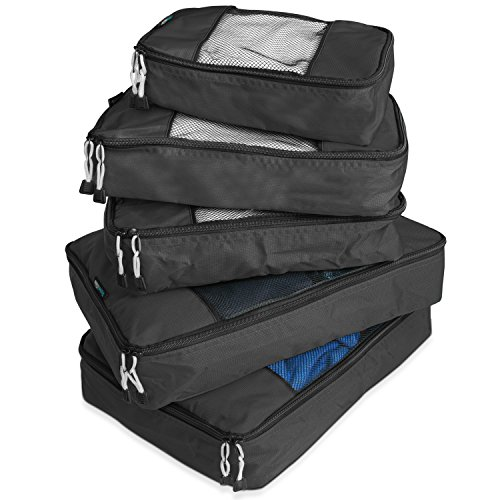TravelWise Packing Cube System – Durable 5 Piece Weekender+ Set Review